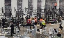 مصرع شخصين وإصابات خطيرة بانهيار مدرج في كنيس قرب القدس