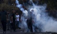 إصابة شاب بالرصاص الحيّ في صدره خلال مواجهات مع الاحتلال قربنابلس