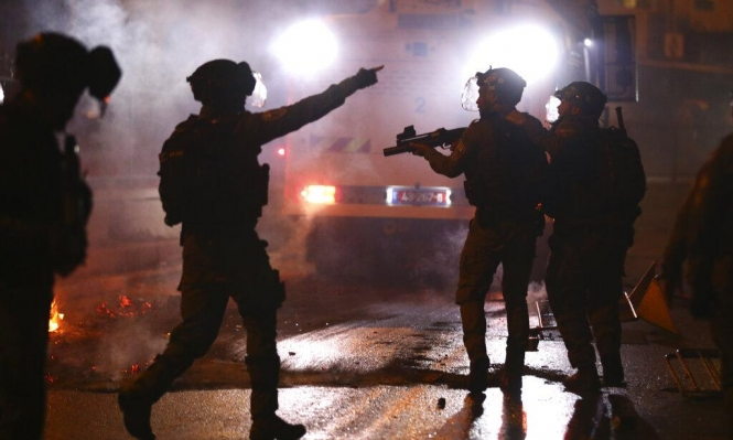 إصابات برصاص المستوطنين بشعفاط ومواجهات ليلية بالقدس