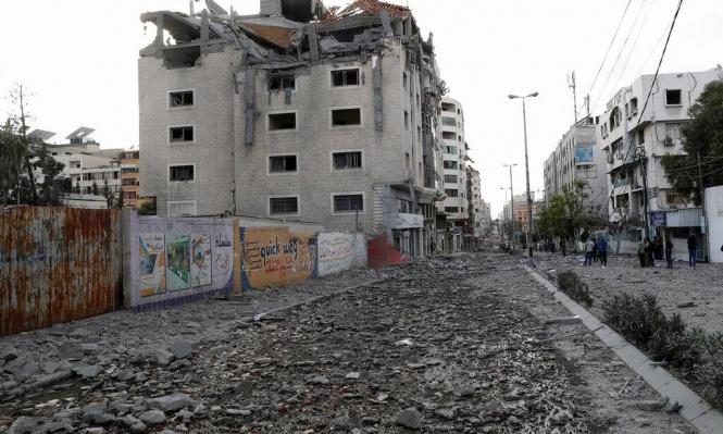 العدوان على غزة: 213 شهيدا وغارات للاحتلال ضد أهداف مدنية