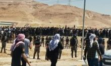مئات العراقيين يتجهون للحدود مع الأردن نصرة لفلسطين