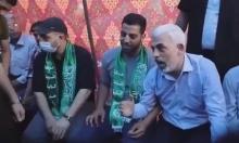 الظهور الأول له بعد العدوان.. السنوار يعزي أحد قادة كتائب القسام