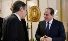 توافقمصريّ أميركيّ على تعزيز التنسيق بشأن هدنة وإعمار غزة
