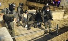 قوات الاحتلال تعتدي على المقدسيين في ساحة باب العامود