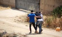 إصابة ثلاثة شبان برصاص الاحتلال غرب رام الله