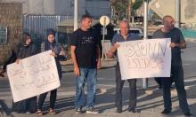 """""""الحرية للمعتقلين"""": وقفة احتجاجية تنديدا بالاعتقالات في جلجولية"""