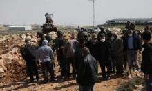 """الاحتلال يجرف أراضي بيطا لتوسعة مستوطنة """"يعقوب طاليا"""""""
