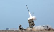 """غانتس يطلب تمويلا أميركيا لسد النقص بصواريخ """"القبة الحديدية"""""""
