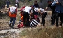 293 إصابة خلال مواجهات مع الاحتلال في بيتا وبيت دجن