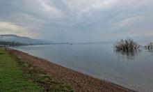 انخفاض منسوب المياه في بحيرة طبرية بـ6 سم في أسبوع