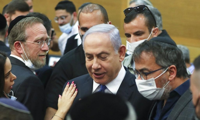 """نتنياهو: """"حكومة الاحتيال اليسارية خطيرة ويجب الاحتجاج ضدها"""""""
