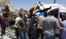 مصرع شخصين وإصابة 5 آخرين في حادث طرق شرق نابلس