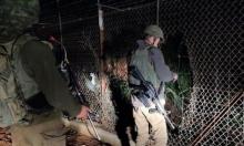 الجيش الإسرائيلي يرصد تسلل شخصين من لبنان