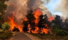 اندلاع حرائق في البلاد إثر موجة الحر