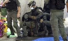 مواجهات واعتقالات في باب العامود إثر التصدي لاقتحام بن غفير