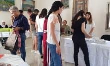 شفاعمرو: منتوجات وطنية وأعمال فنية ضمن البازار الشعبي