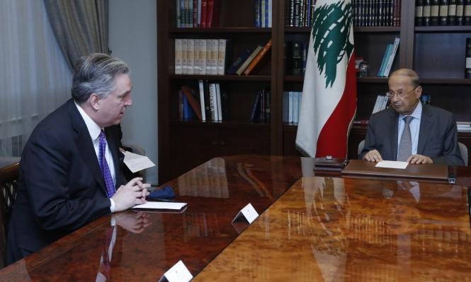 عون: نرغب بمواصلة مفاوضات ترسيم الحدود مع إسرائيل