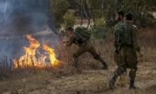 """""""غلاف غزة"""": حرائق تسببها بالونات حارقة احتجاجا على مسيرة المستوطنين"""