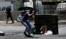 """مواجهات مع الاحتلال في الضفة تنديدا بـ""""مسيرة الأعلام"""""""