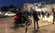 الشرطة تقمع مسيرة في اللد وتعتقل متظاهرين