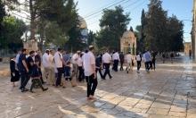 اقتحامات للمستوطنين في المسجد الأقصى وسبسطية.. وحملة اعتقالات بالضفة
