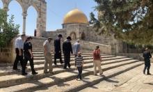 مستوطنون يجدّدون اقتحاماتهم للأقصى واعتقال أحد حرّاس المسجد
