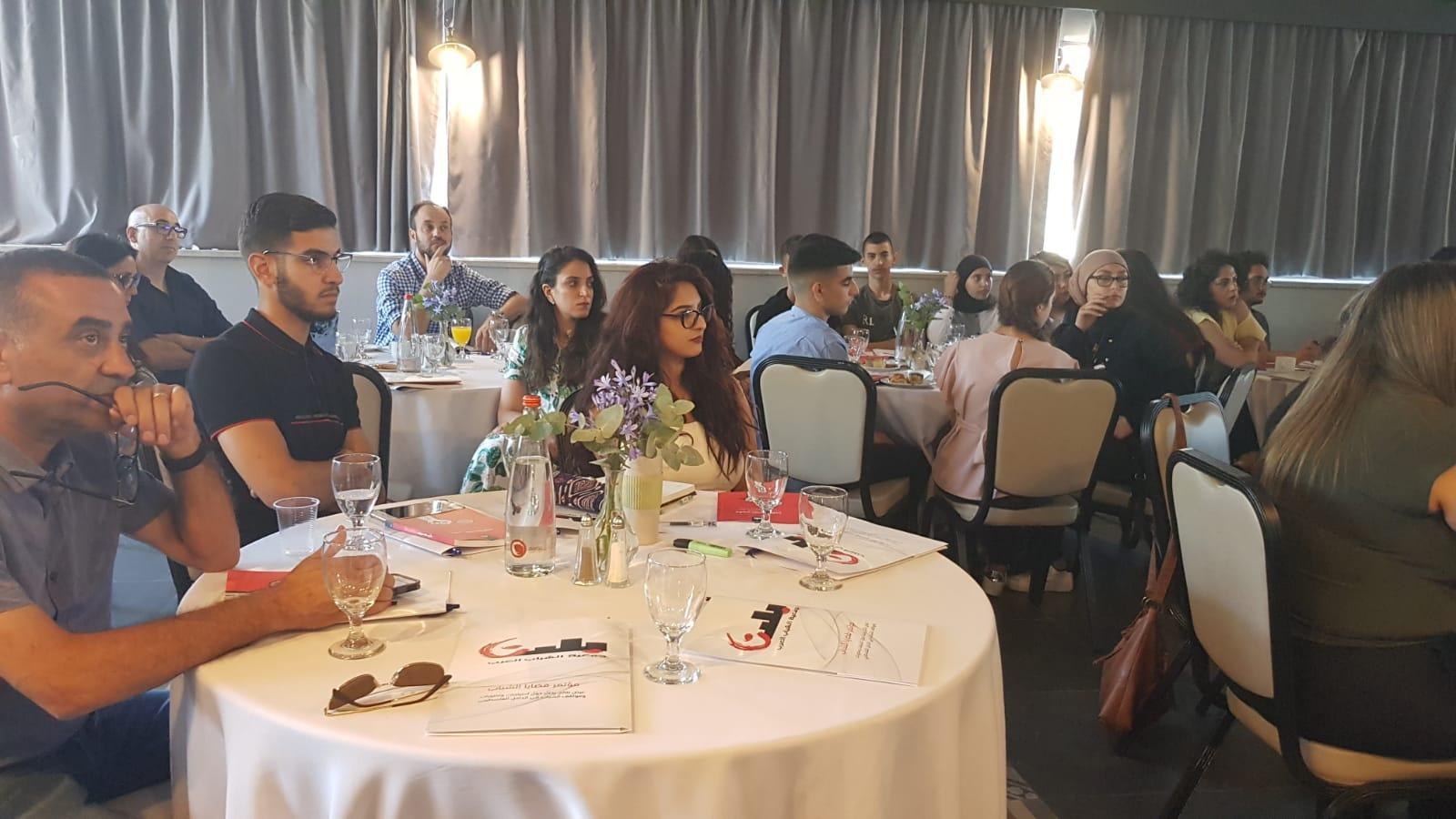"""مؤتمر """"بلدنا"""": 72% من الشباب يرون أنفسهم جزءًامن الشعب الفلسطيني"""