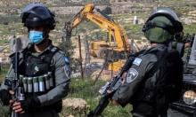 استهداف للبناء الفلسطيني في المناطق سي: 34 إخطارا بالهدم خلال أيام
