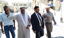 إبعاد قيادي في الحركة الإسلامية المحظورة إسرائيليا عن الأقصى