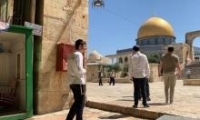 القدس المحتلة: 74 مستوطنا اقتحموا باحات المسجد الأقصى