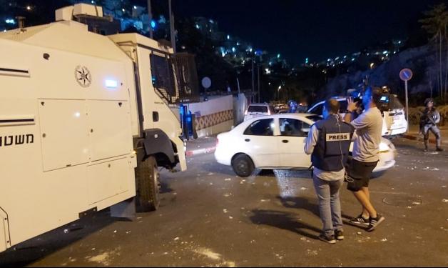 سلوان: مواجهات إثر قمع الاحتلال لوقفة احتجاجية