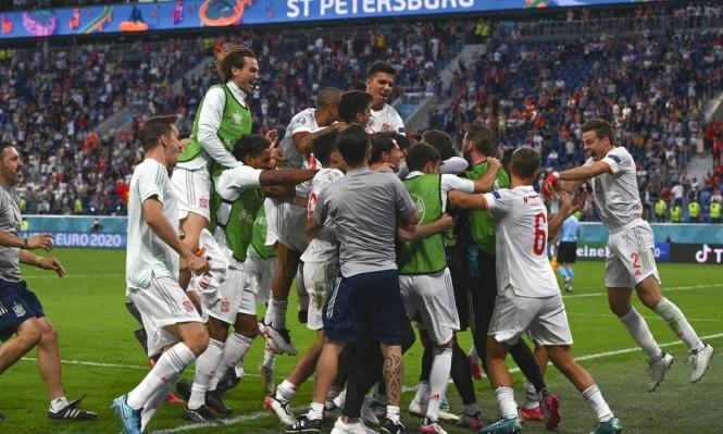 يورو 2020: إسبانيا تحجز مقعدا في نصف النهائي