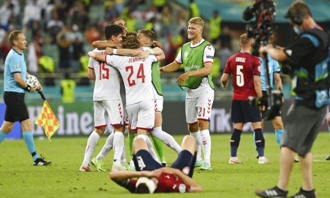 يورو 2020: الدانمارك تتخطى التشيك وتتأهل لنصف النهائي