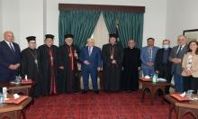 عباس: ندافع عن المسجد الأقصى كما ندافع عن كنيسة القيامة