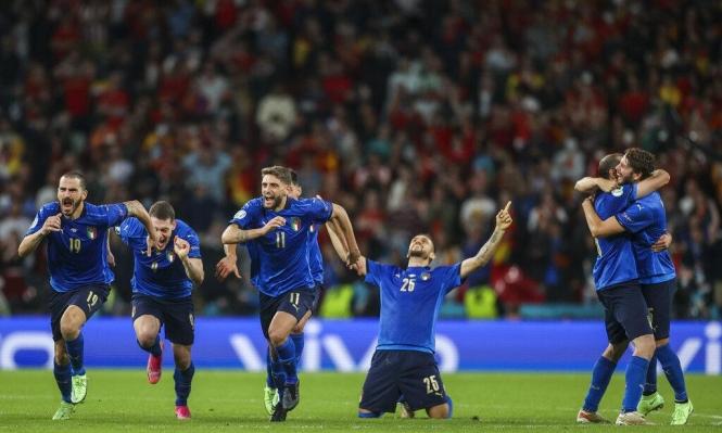 يورو 2020: إيطاليا تبلغ النهائي على حساب إسبانيا