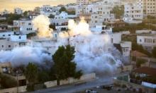 الاحتلال يفجر منزل الأسير منتصر شلبي