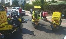 حيفا: إصابة خطيرة لشاب في حادث طرق