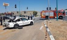 مصرع طفلة في حادث طرق قرب اللد