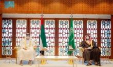 السعودية والإمارات تبحثان تطوير التعاون والأوضاع الإقليمية
