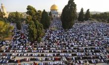 أكثر من 100 ألف مصلٍّ يؤدون صلاة عيد الأضحى في الأقصى
