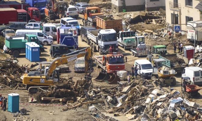 5 مليارات يورو خسائر ألمانيا جراء الفيضانات