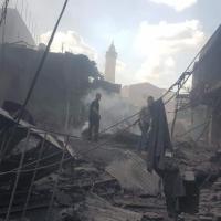 غزة: قتيل ومصابون إثر انفجار في مبنى مجاور لمحلّات تجاريّة