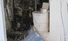 جمّاعين: مستوطنون يحرقون مصنعًا فلسطينيًا.. ويتقدمون بشكوى!