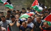 تشييع جثمان الشهيد الفتى محمد التميمي في رام الله