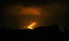 طيران الاحتلال يشن غارات على أهداف في غزة