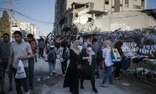 غزة: حالة وفاة و113 إصابة جديدة بكورونا