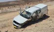 النقب: مصرع شخص وإصابة 7 جراء حادث طرق