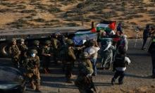 الاحتلال يخطر بهدم غرفتين ويقمع مسيرة مناهضة للاستيطان بطوباس