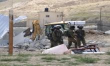 الاحتلال هدم 59 مبنى ويشرد 96 فلسطينيا بالضفة بأسبوعين