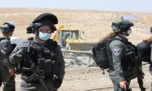 طوباس: الاحتلال يجرف طريقا ويهدم منشأة زراعية في عاطوف